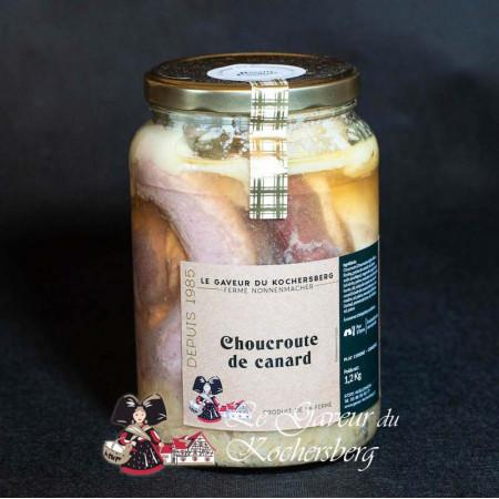 Choucroute au canard (2pers.)