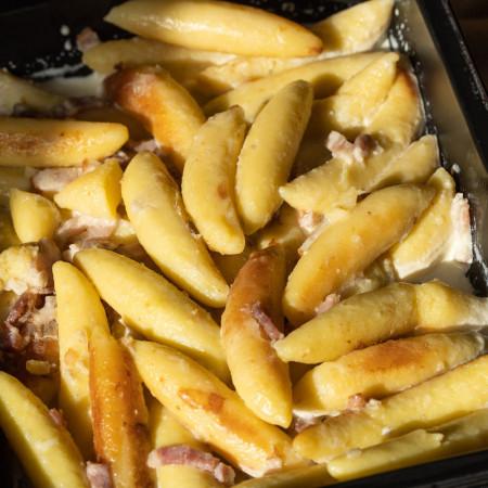 Schupfnudel crème / lardons (1pers.)