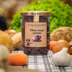 Chou rouge cuisiné d'Alsace
