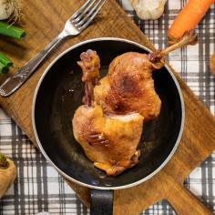 Cuisse de canard confite (2 pièces)