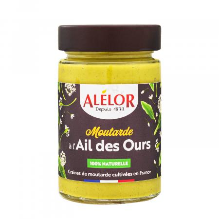 Moutarde à l'Ail des Ours 100%...