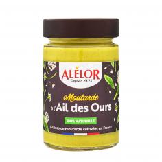 Moutarde à l'Ail des Ours 100% Naturelle – 200g