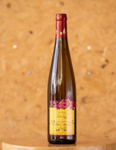 Riesling Cuvée Maeva 2015, domaine SCHEYDER, vin d'Alsace