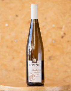 Pinot Gris Cuvée Particulière 2018, domaine HERTZOG, vin d'Alsace